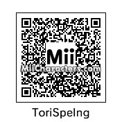 QR Code for Tori Spelling by cat