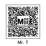 QR Code for Mr. T by MPD