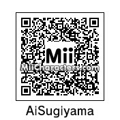 QR Code for Ai Sugiyama by J1N2G