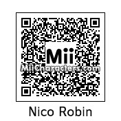 QR Code for Nico Robin by Golden