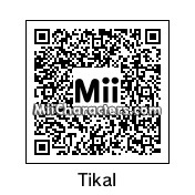 QR Code for Tikal the Echidna by Discord