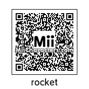 QR Code for Rocket Racoon by tigrana