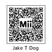 QR Code for Jake the Dog by TXClaw