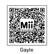 QR Code for Gayle by VampirePrince