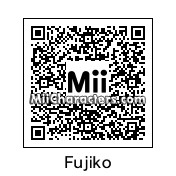 QR Code for Fujiko Mine by Phoenix Lord
