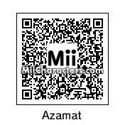 QR Code for Azamat Bagatov by Mike 4