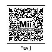 QR Code for Favij by M T T