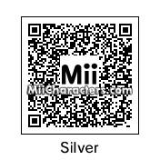 QR Code for Silver the Hedgehog by Discord