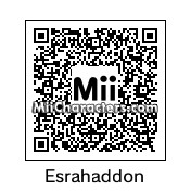 QR Code for Esrahaddon by tigrana