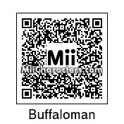 QR Code for Buffaloman by Eben Frostey