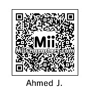 QR Code for Ahmed Johnson by Eben Frostey