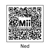 QR Code for Ned Bigby by M T T