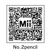 QR Code for No.2 Pencil by Chase2183