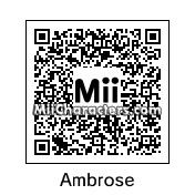 QR Code for Dean Ambrose by TheY2AProblem