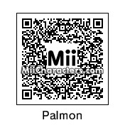 QR Code for Palmon by Hexicune