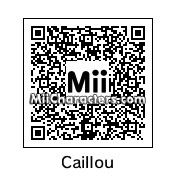 QR Code for Caillou by Hexicune