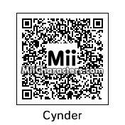 QR Code for Cynder by Hexicune