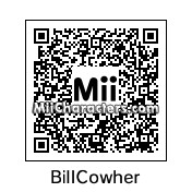 QR Code for Bill Cowher by St. Patty