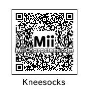 QR Code for Kneesocks by Hexicune