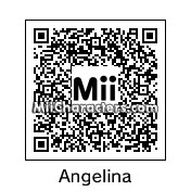 QR Code for Angelina Jolie by St. Patty
