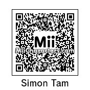 QR Code for Simon Tam by Andy Anonymous