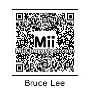 QR Code for Bruce Lee by St. Patty