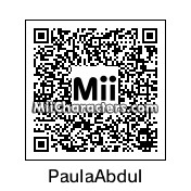 QR Code for Paula Abdul by St. Patty
