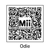QR Code for Odie by St. Patty
