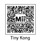 QR Code for Tiny Kong by Retrotator