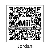 "QR Code for Michael ""Air"" Jordan by St. Patty"