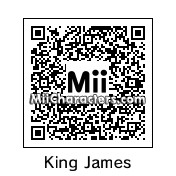 QR Code for Lebron James by St. Patty
