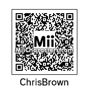 QR Code for Chris Brown by J1N2G