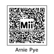 QR Code for Arnie Pye by M T T