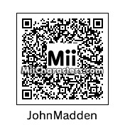 QR Code for John Madden by St. Patty