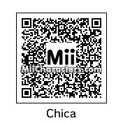 QR Code for Chica the Chicken by Ik3A