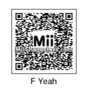 QR Code for F Yeah by X325