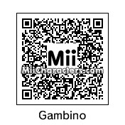 QR Code for Childish Gambino by JBass93