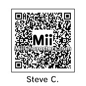 QR Code for Steve Carell by rababob