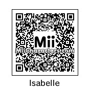 QR Code for Isabelle by CancerTurtle