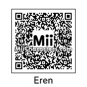QR Code for Eren Yeager by Andy Anonymous