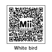QR Code for White Bird by EvilVamp