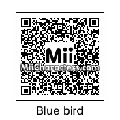 QR Code for Blue Angry Bird by EvilVamp