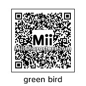 QR Code for Green Angry Bird by EvilVamp