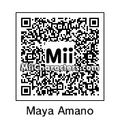 QR Code for Maya Amano by AlexIDV