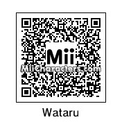 QR Code for Wataru Kurenai by NixoSatori