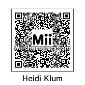 QR Code for Heidi Klum by dibi