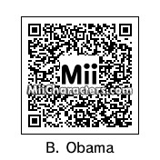 QR Code for Barack Obama by Dan9277