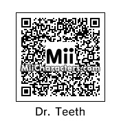 QR Code for Dr. Teeth by Toughie