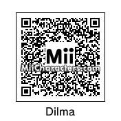 QR Code for Dilma Rousseff by DanVenturini