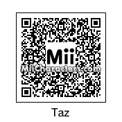 QR Code for Taz by *ZiMonkey